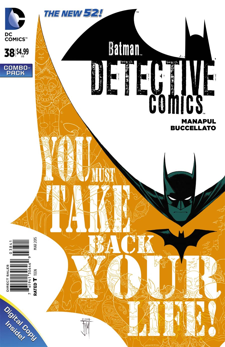 Detective Comics Vol 2 #38 Cover D Combo Pack Without Polybag