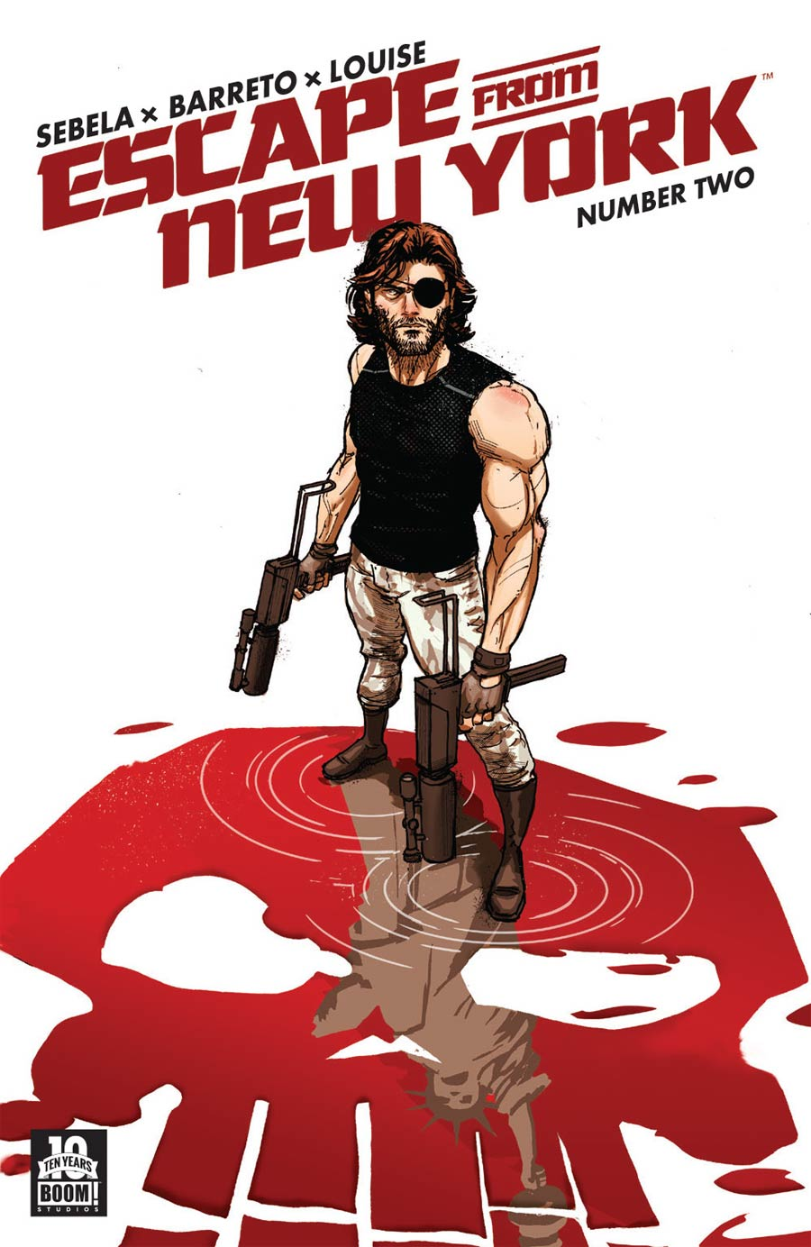 Escape From New York #2 Cover B Regular Riley Rossmo Cover