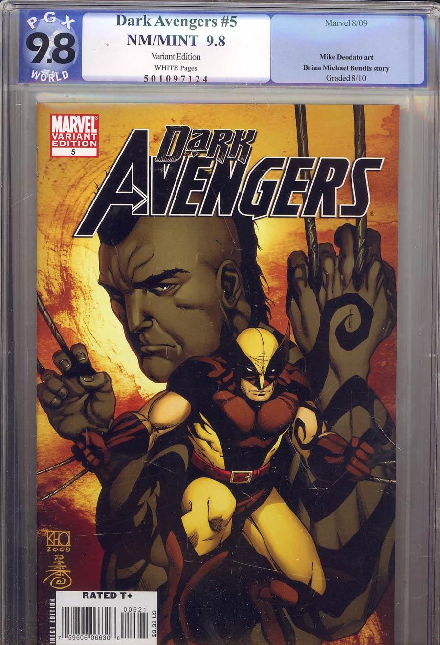 Dark Avengers #5 Cover C Incentive Khoi Pham Variant Cover (Dark Reign Tie-In) PGX 9.8