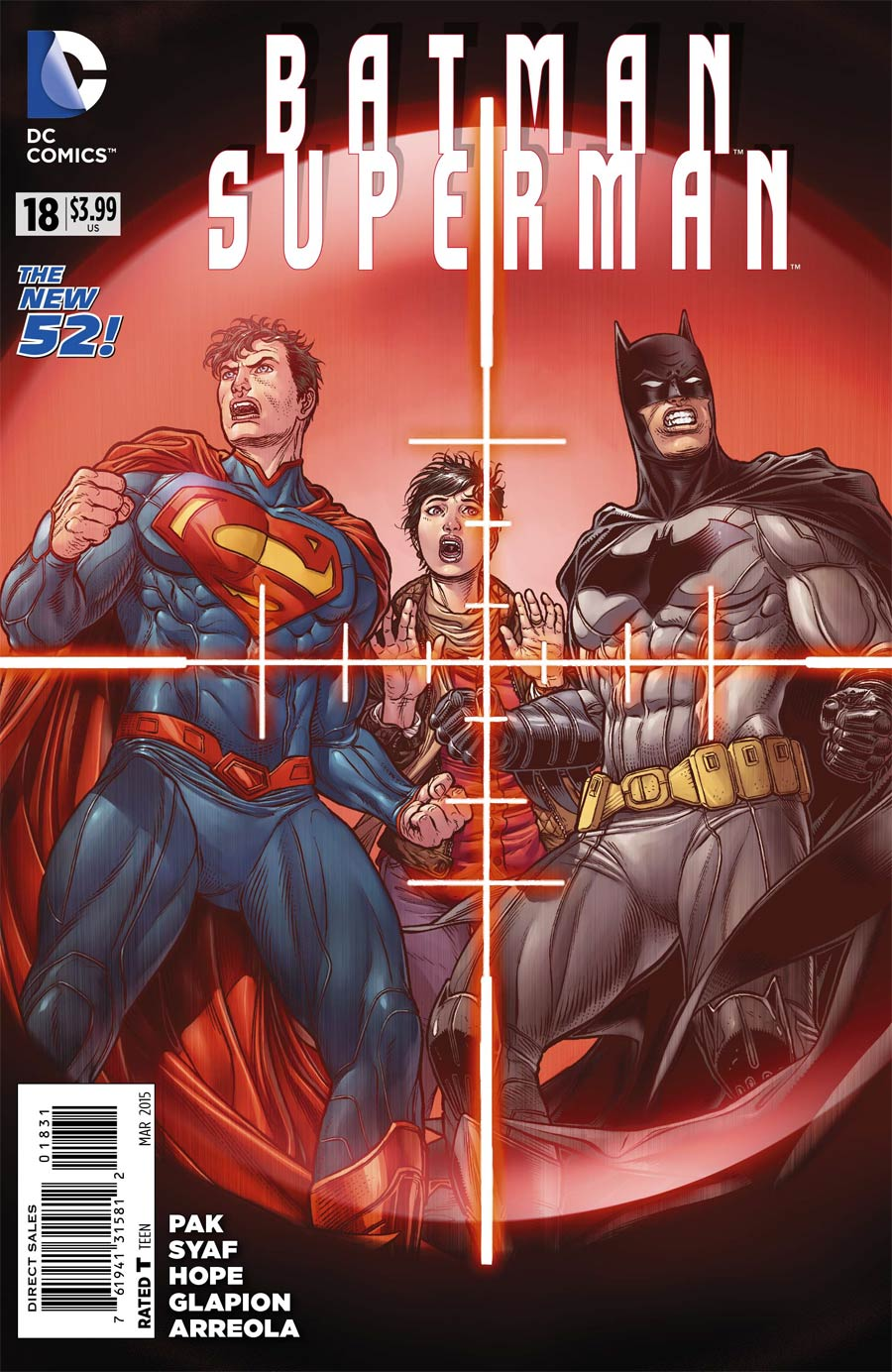 Batman Superman #18 Cover E Incentive Juanjo Variant Cover