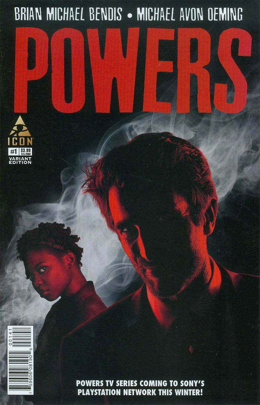 Powers Vol 4 #1 Cover C Incentive Photo Variant Cover