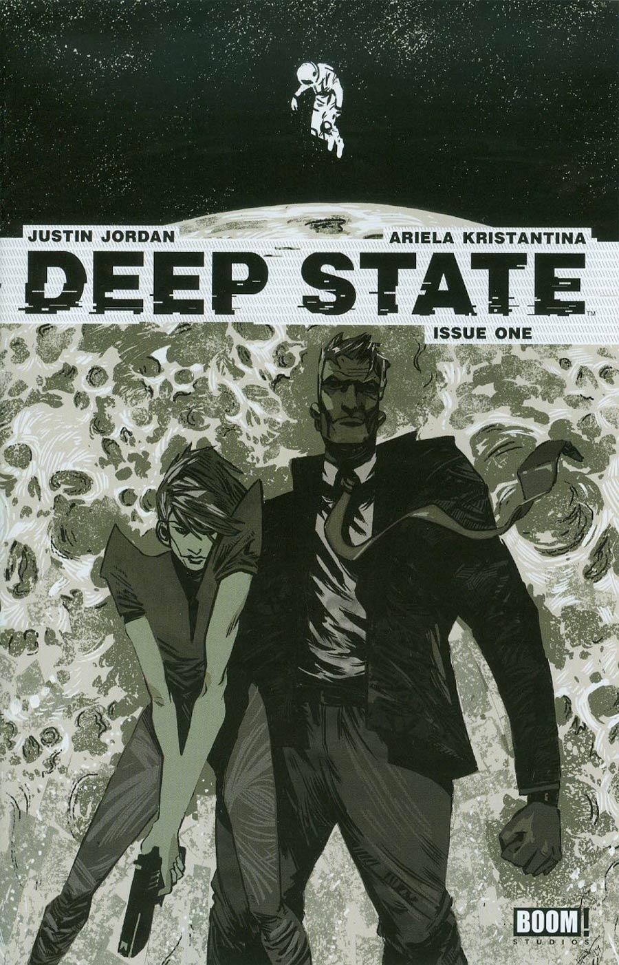 Deep State #1 Cover D 3rd Ptg Eric Scott Pfeiffer Variant Cover