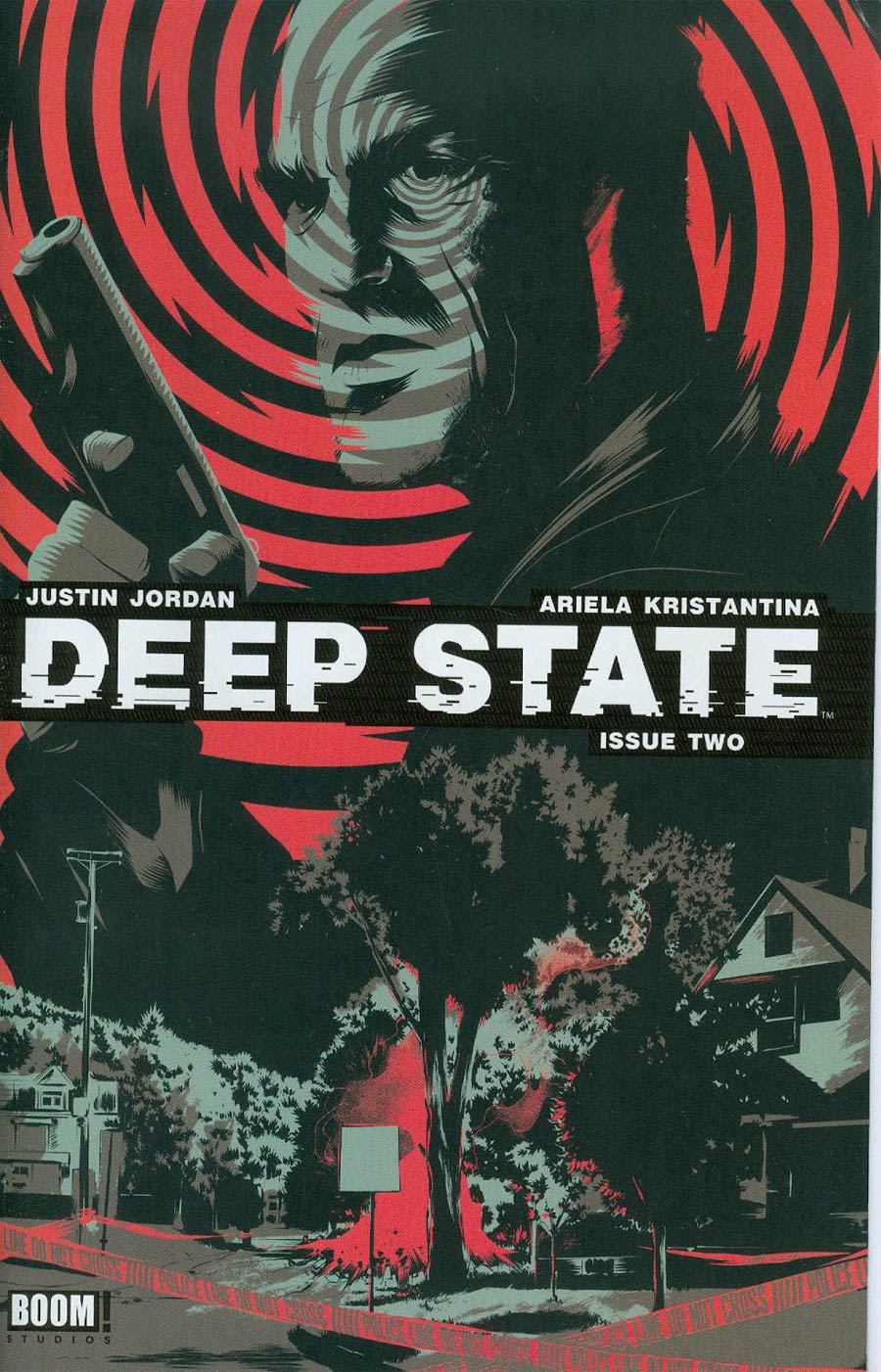 Deep State #2 Cover C 2nd Ptg Matt Taylor Variant Cover