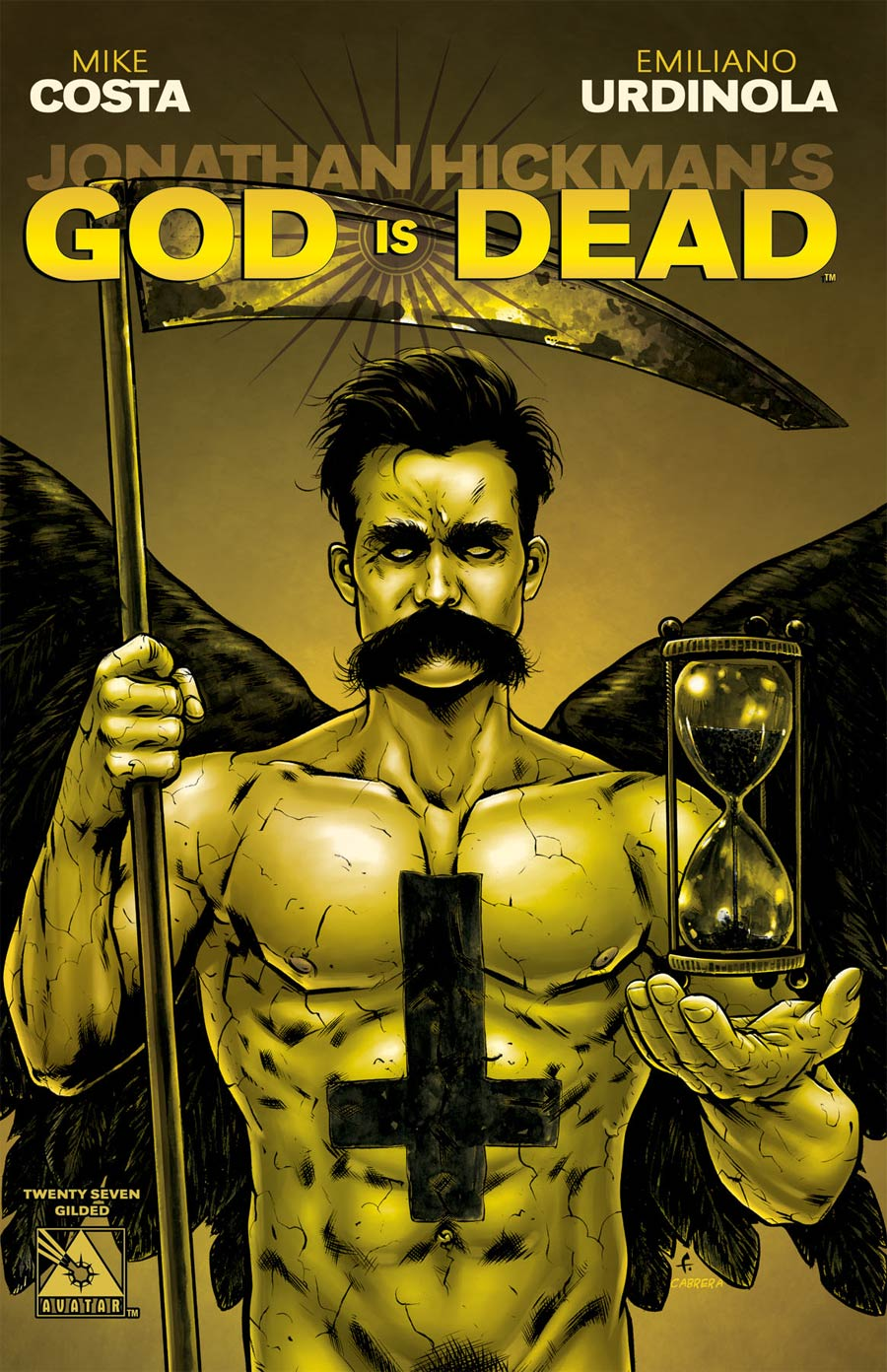 God Is Dead #27 Cover F Incentive Gilded Cover