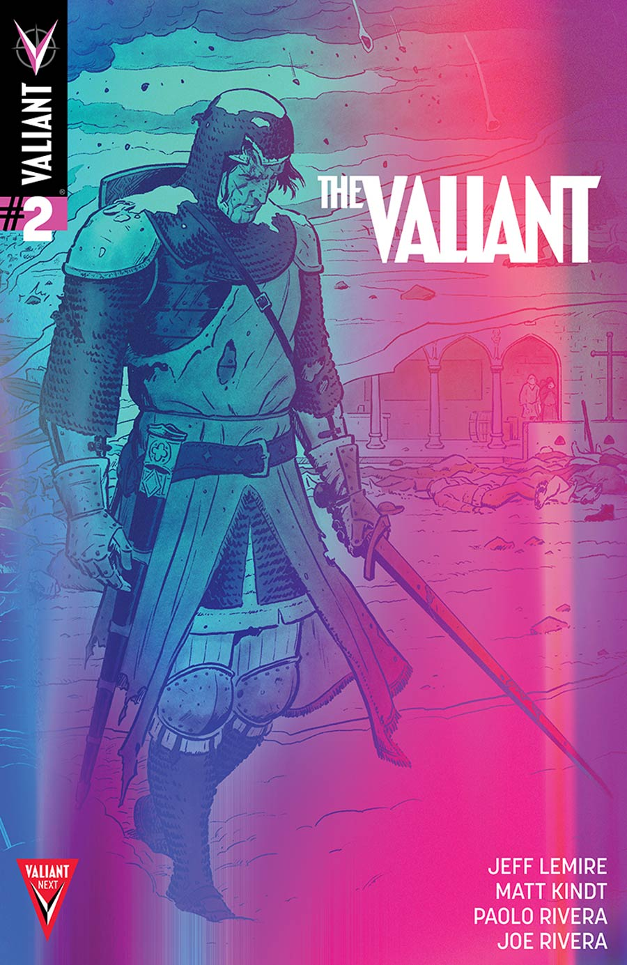 The Valiant #2 Cover B Incentive Paolo Rivera Valiant Next Variant Cover