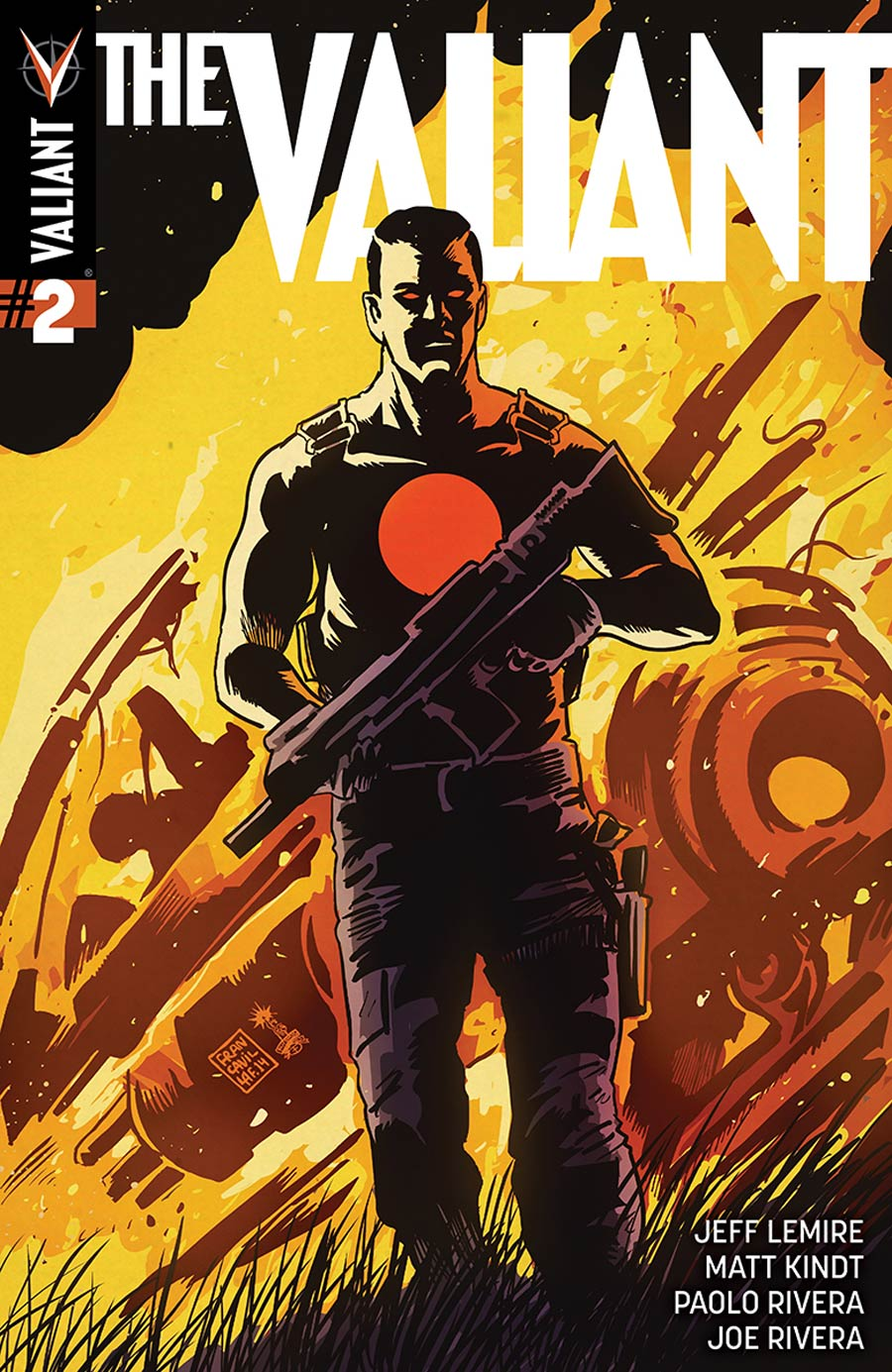 The Valiant #2 Cover D Incentive Francesco Francavilla Variant Cover