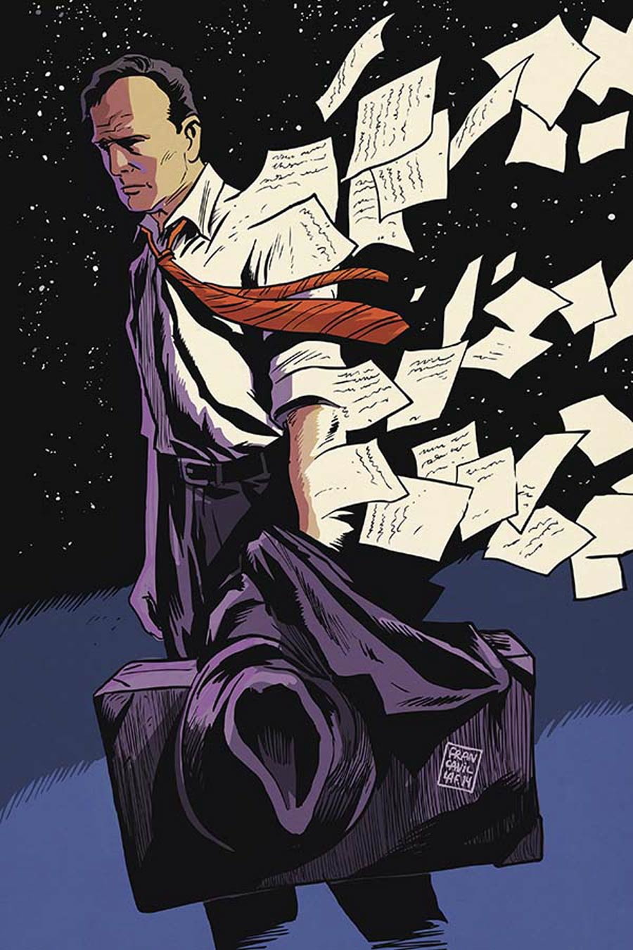 Twilight Zone Shadow & Substance #1 Cover H Incentive Francesco Francavilla Virgin Cover