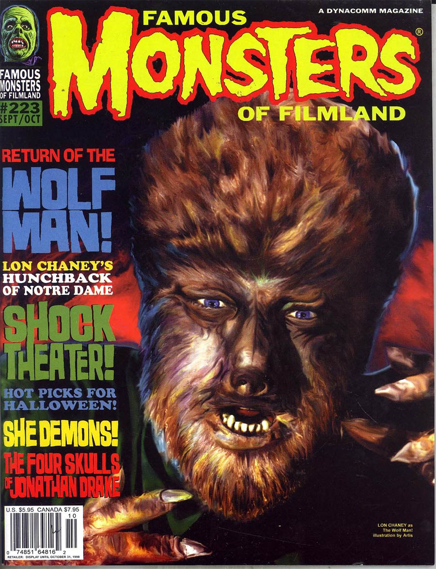 Famous Monsters of Filmland #223