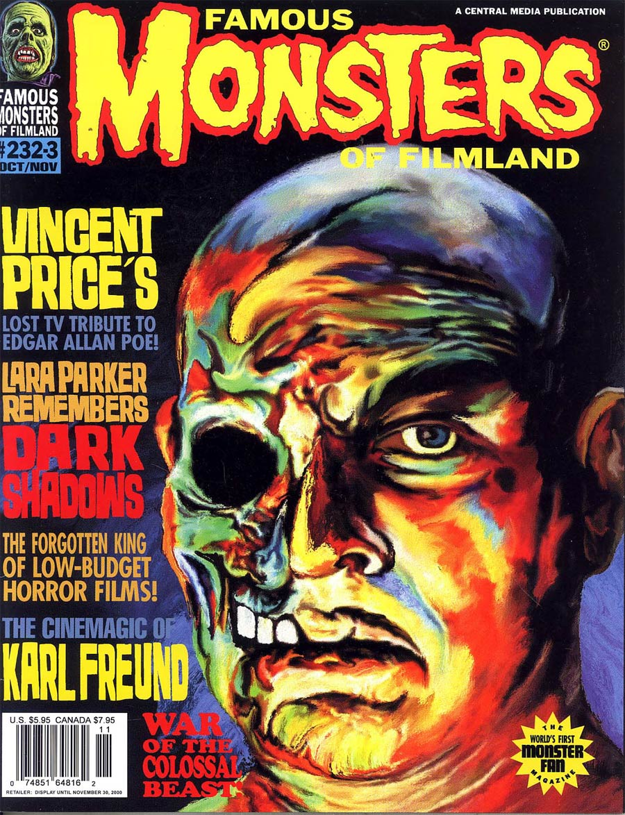 Famous Monsters of Filmland #232 233