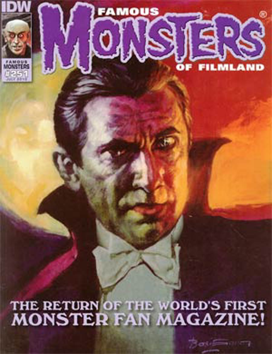 Famous Monsters Of Filmland #251 Bela Lugosi Cover