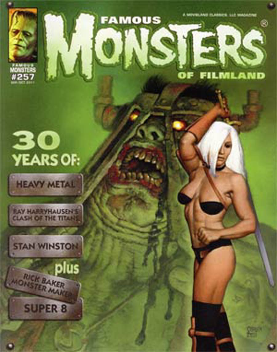Famous Monsters Of Filmland #257 Sep/Oct 2011 Previews Exclusive Edition