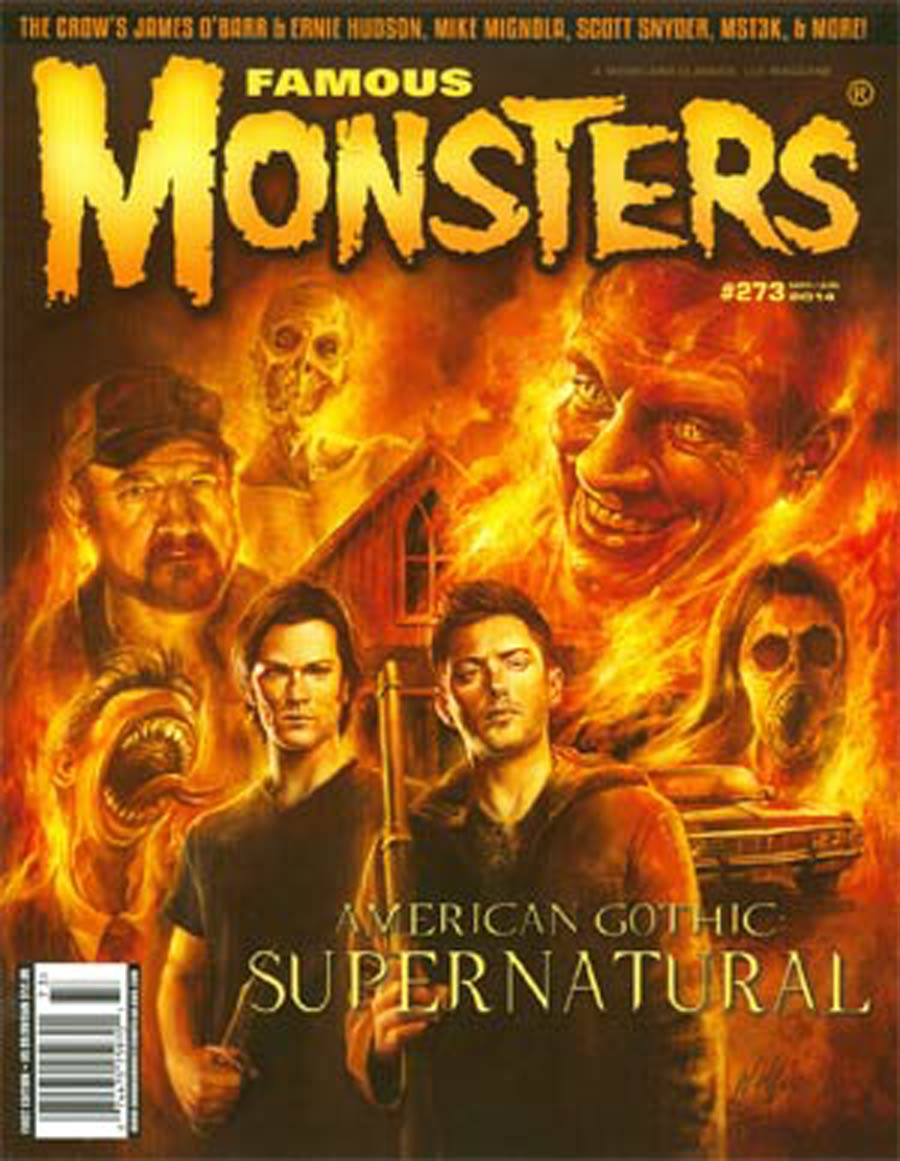 Famous Monsters Of Filmland #273 May / Jun 2014 Newsstand Edition