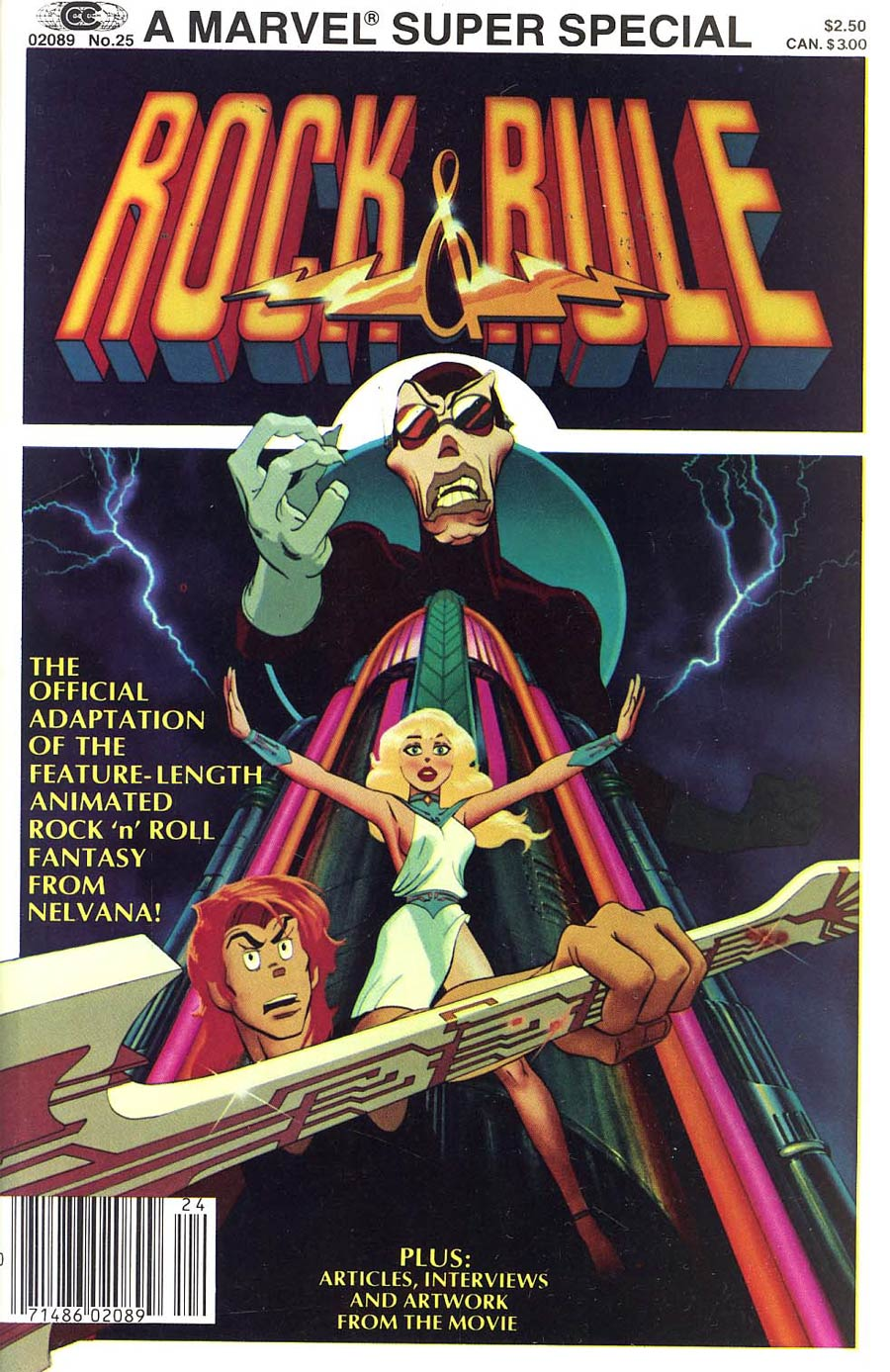 Marvel Comics Super Special Magazine #25 Comic Sized Edition