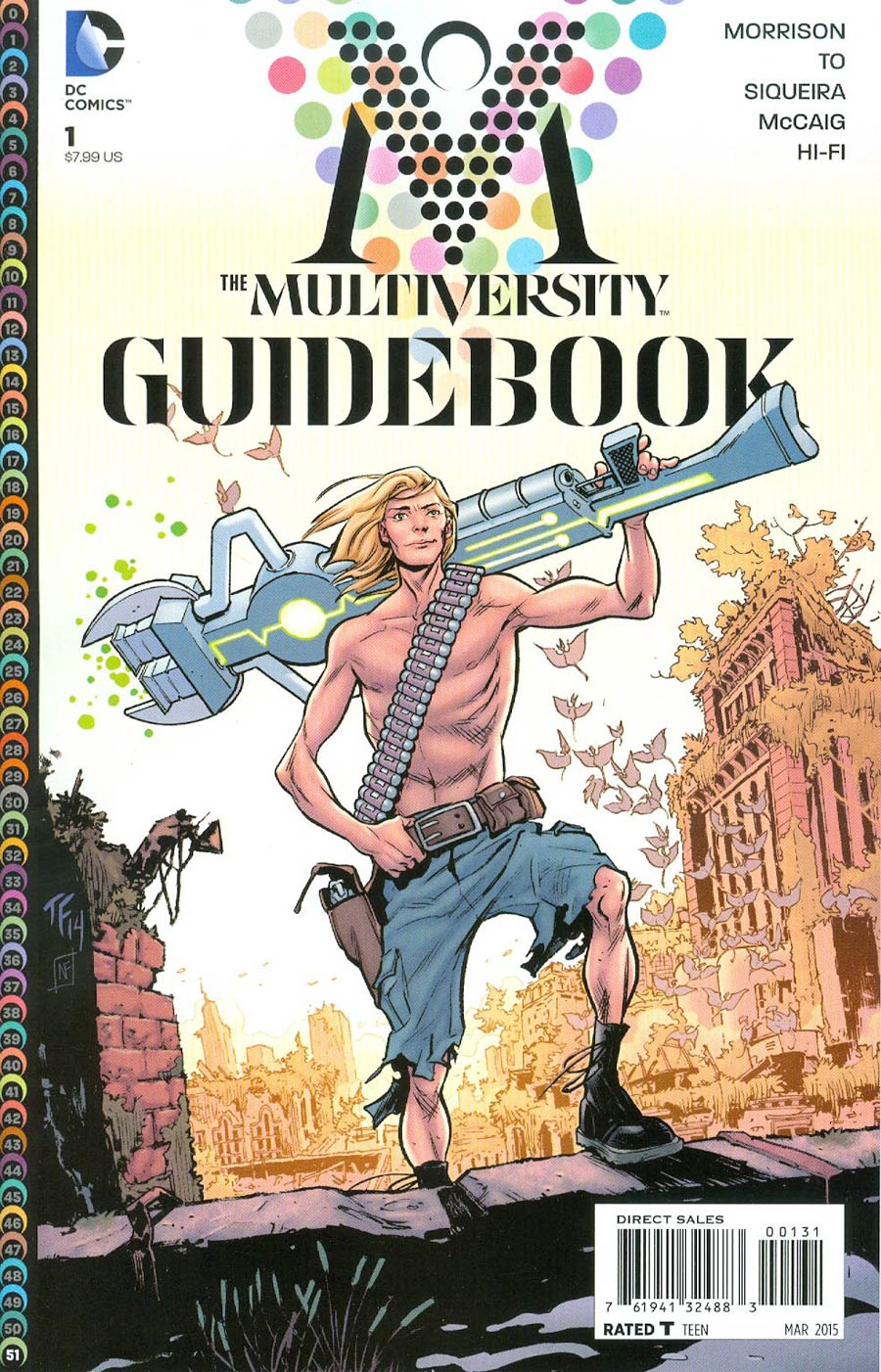 Multiversity Guidebook #1 Cover C Incentive Tom Fowler Variant Cover