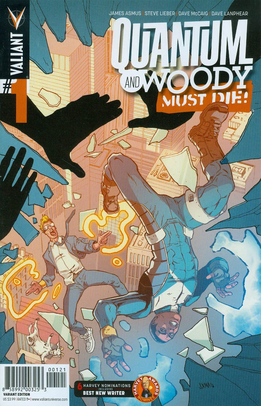 Quantum & Woody Must Die #1 Cover B Incentive Johnnie Christmas Variant Cover
