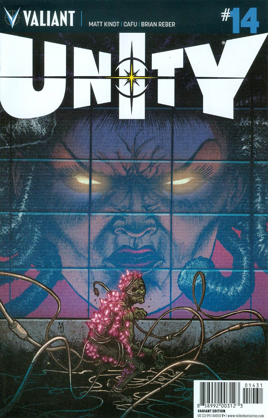 Unity Vol 2 #14 Cover C Incentive Ryan Lee Variant Cover