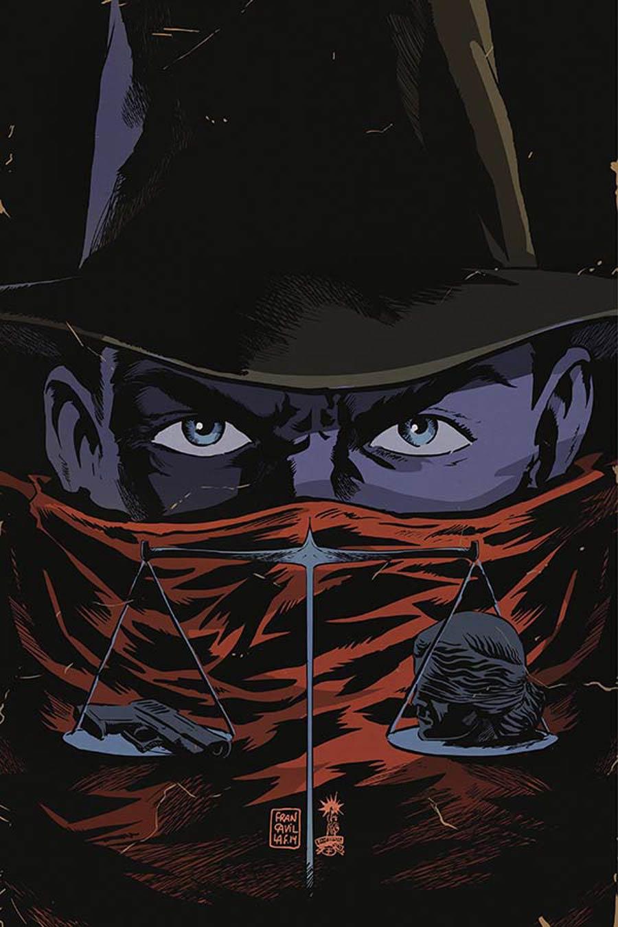 Justice Inc Vol 3 #6 Cover G Incentive Francesco Francavilla Virgin Cover