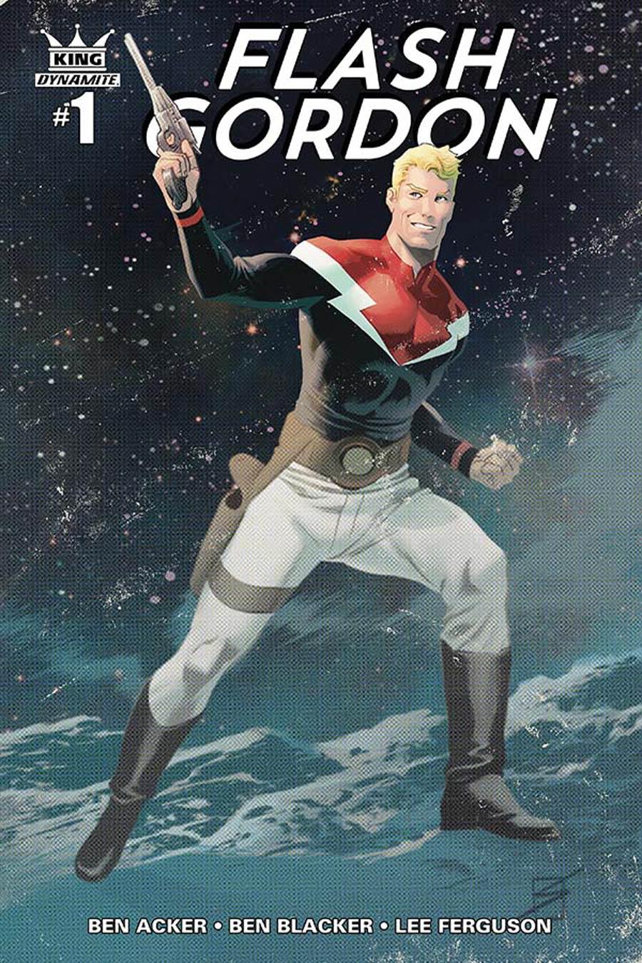 King Flash Gordon #1 Cover D Incentive Ron Salas Color Variant Cover