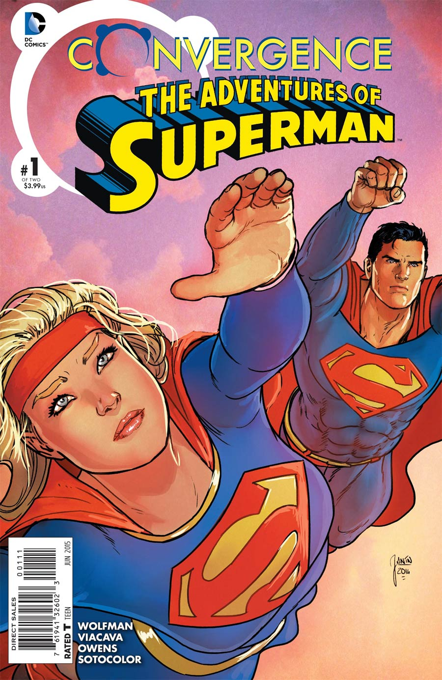 Convergence Adventures Of Superman #1 Cover A Regular Mikel Janin Cover