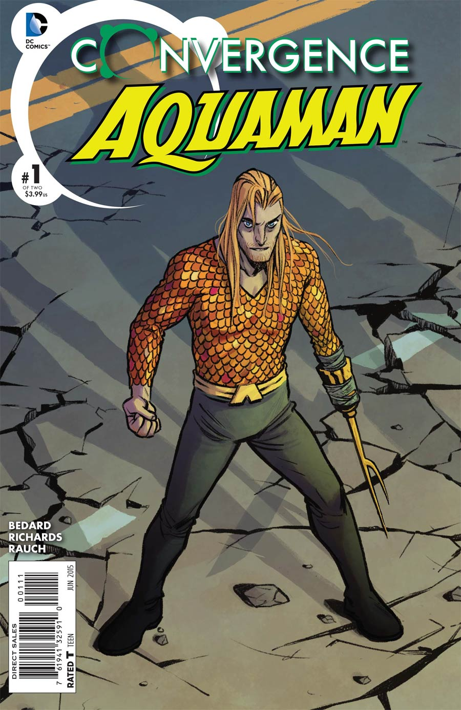 Convergence Aquaman #1 Cover A Regular Becky Cloonan Cover