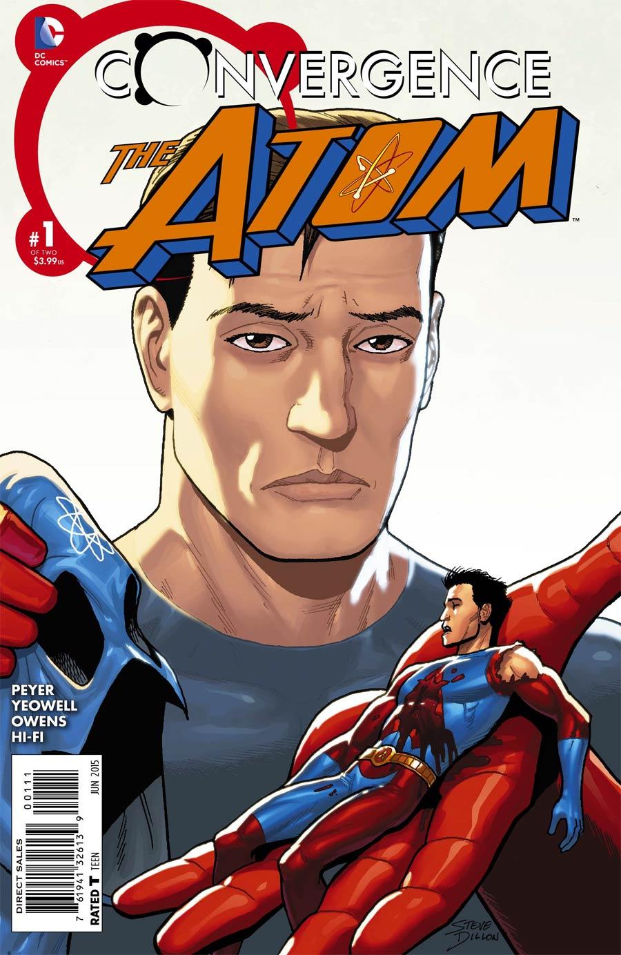 Convergence Atom #1 Cover A Regular Steve Dillon Cover
