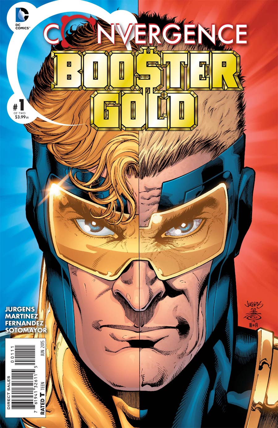 Convergence Booster Gold #1 Cover A Regular Dan Jurgens Cover