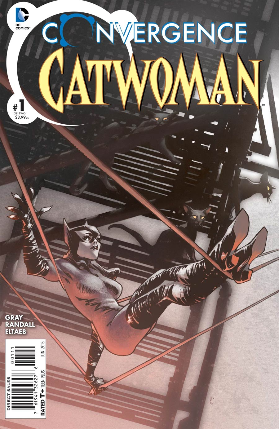 Convergence Catwoman #1 Cover A Regular Claire Wendling Cover