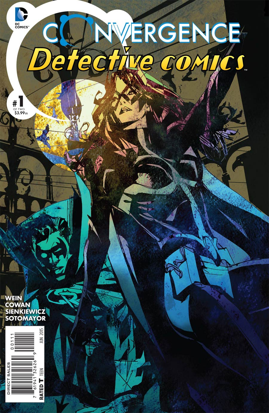 Convergence Detective Comics #1 Cover A Regular Bill Sienkiewicz Cover