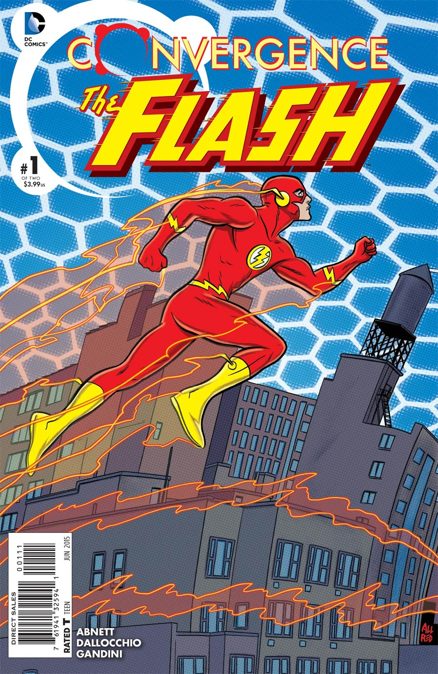 Convergence Flash #1 Cover A Regular Michael Allred Cover