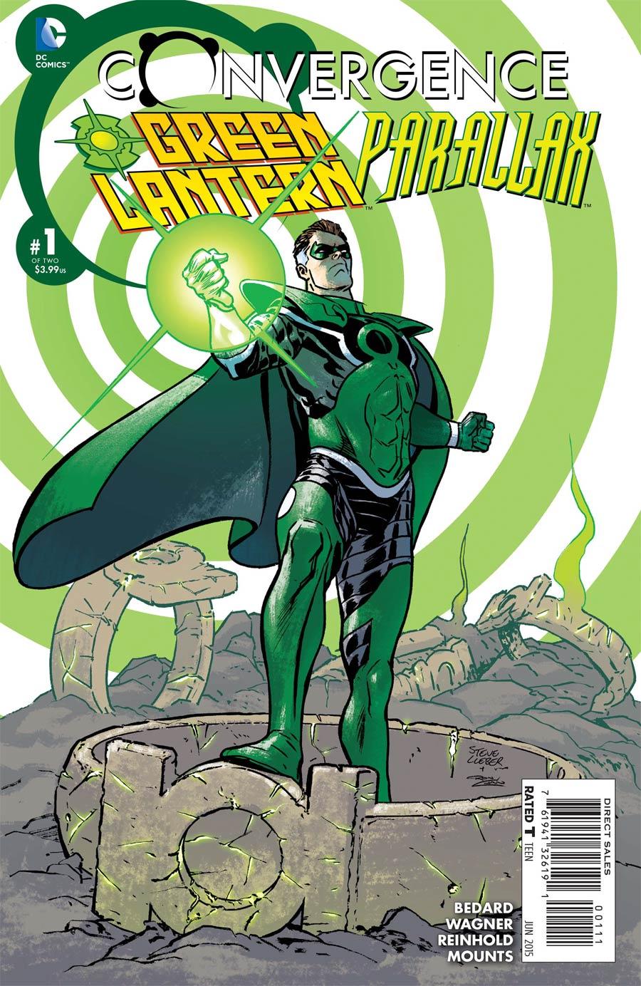 Convergence Green Lantern Parallax #1 Cover A Regular Steve Lieber Cover