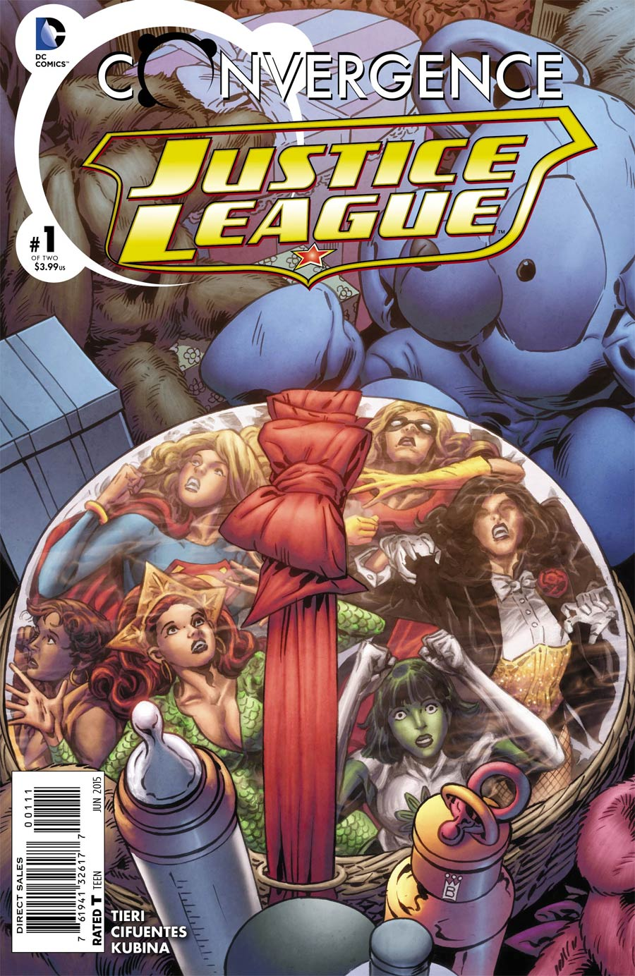 Convergence Justice League #1 Cover A Regular Mark Buckingham Cover