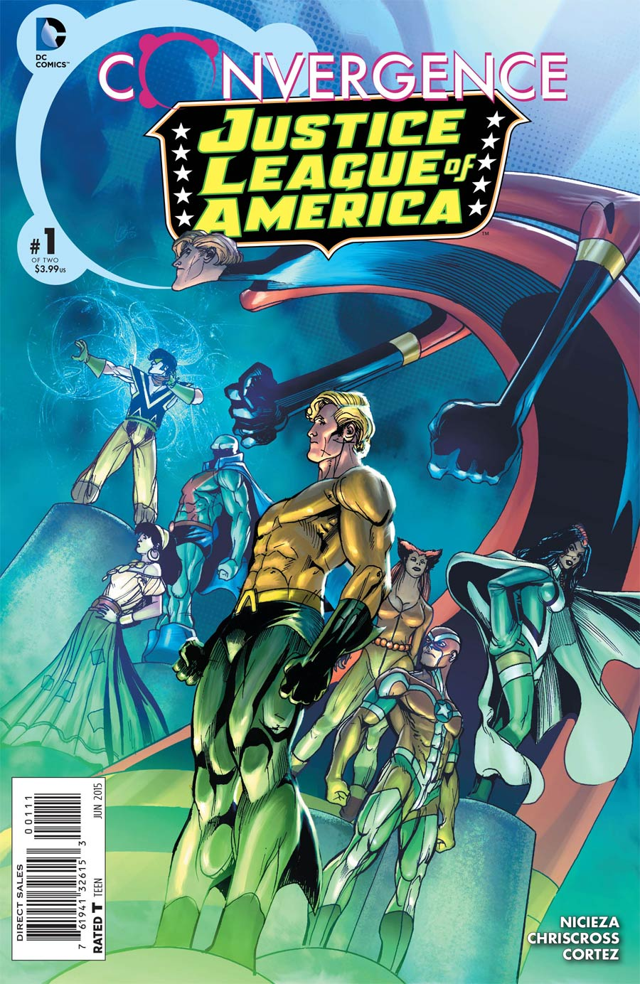 Convergence Justice League America #1 Cover A Regular Chriscross Cover