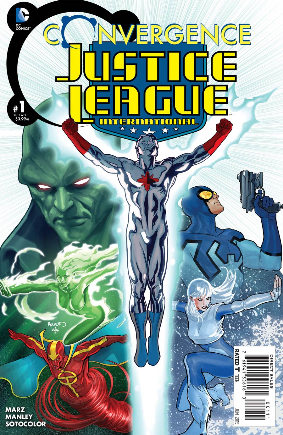 Convergence Justice League International #1 Cover A Regular Paul Renaud Cover