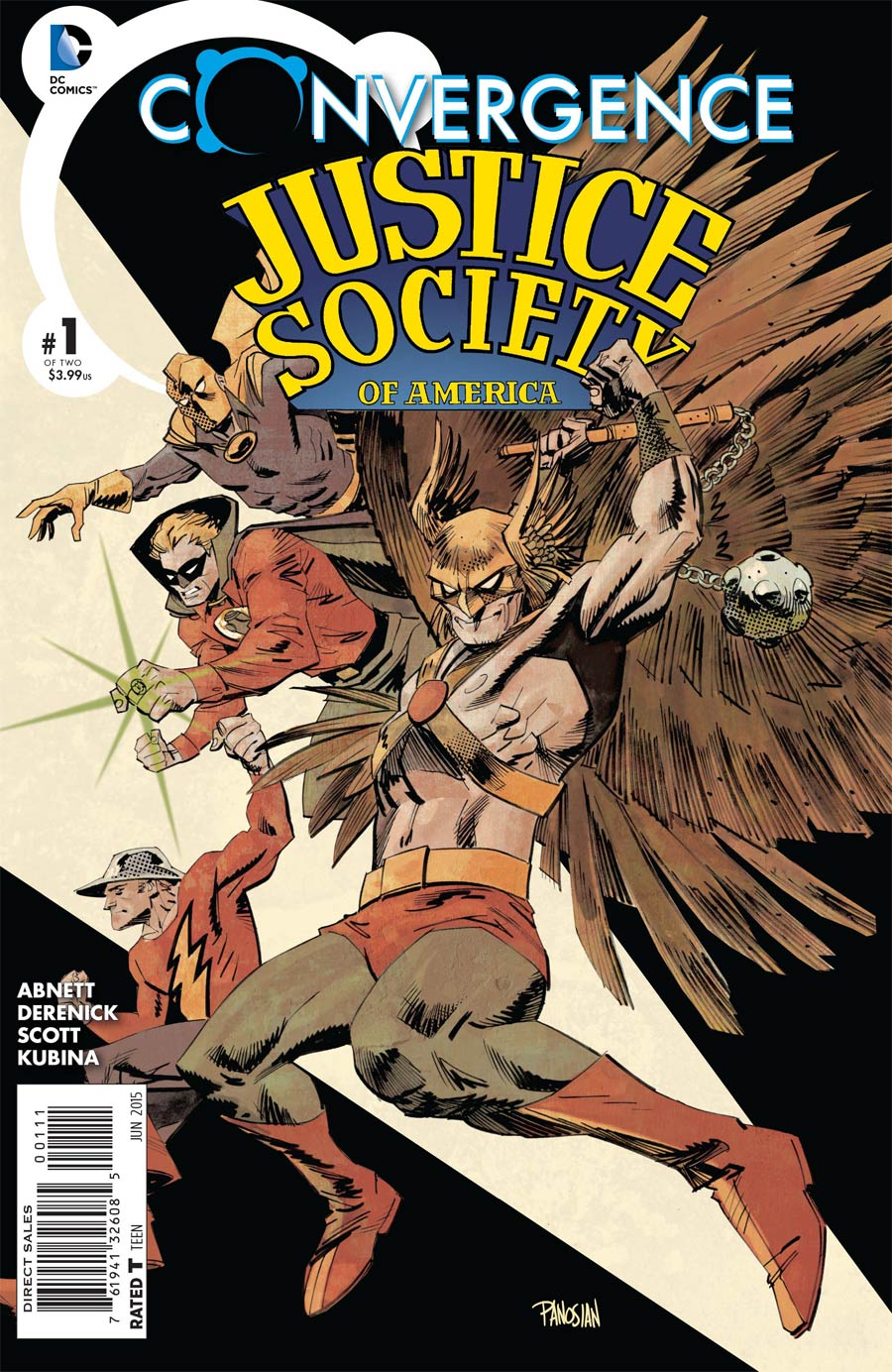 Convergence Justice Society Of America #1 Cover A Regular Dan Panosian Cover