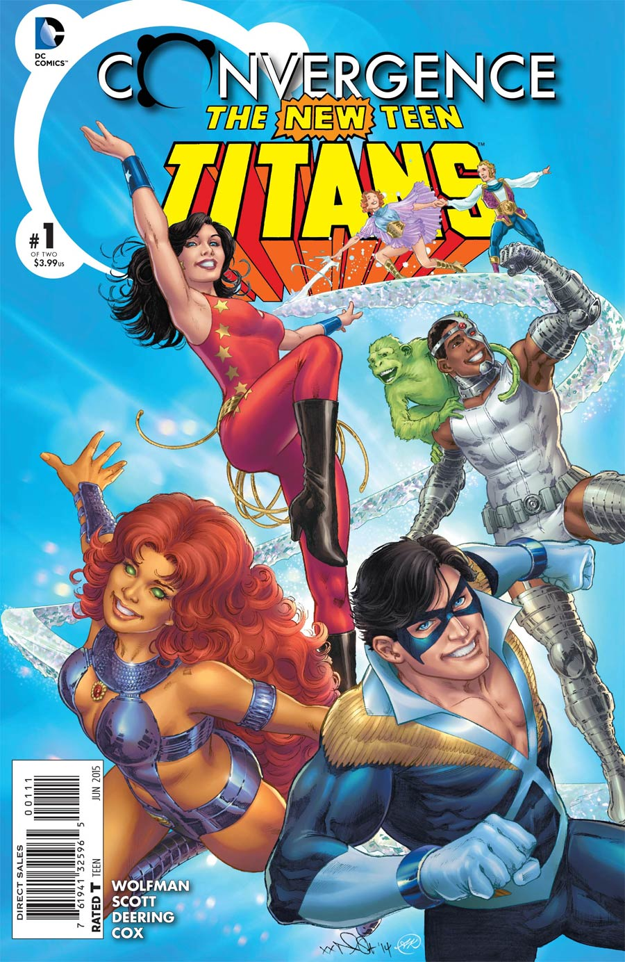 Convergence New Teen Titans #1 Cover A Regular Nicola Scott Cover