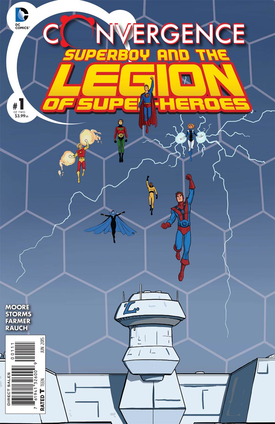 Convergence Superboy And The Legion Of Super-Heroes #1 Cover A Regular Pia Guerra Cover