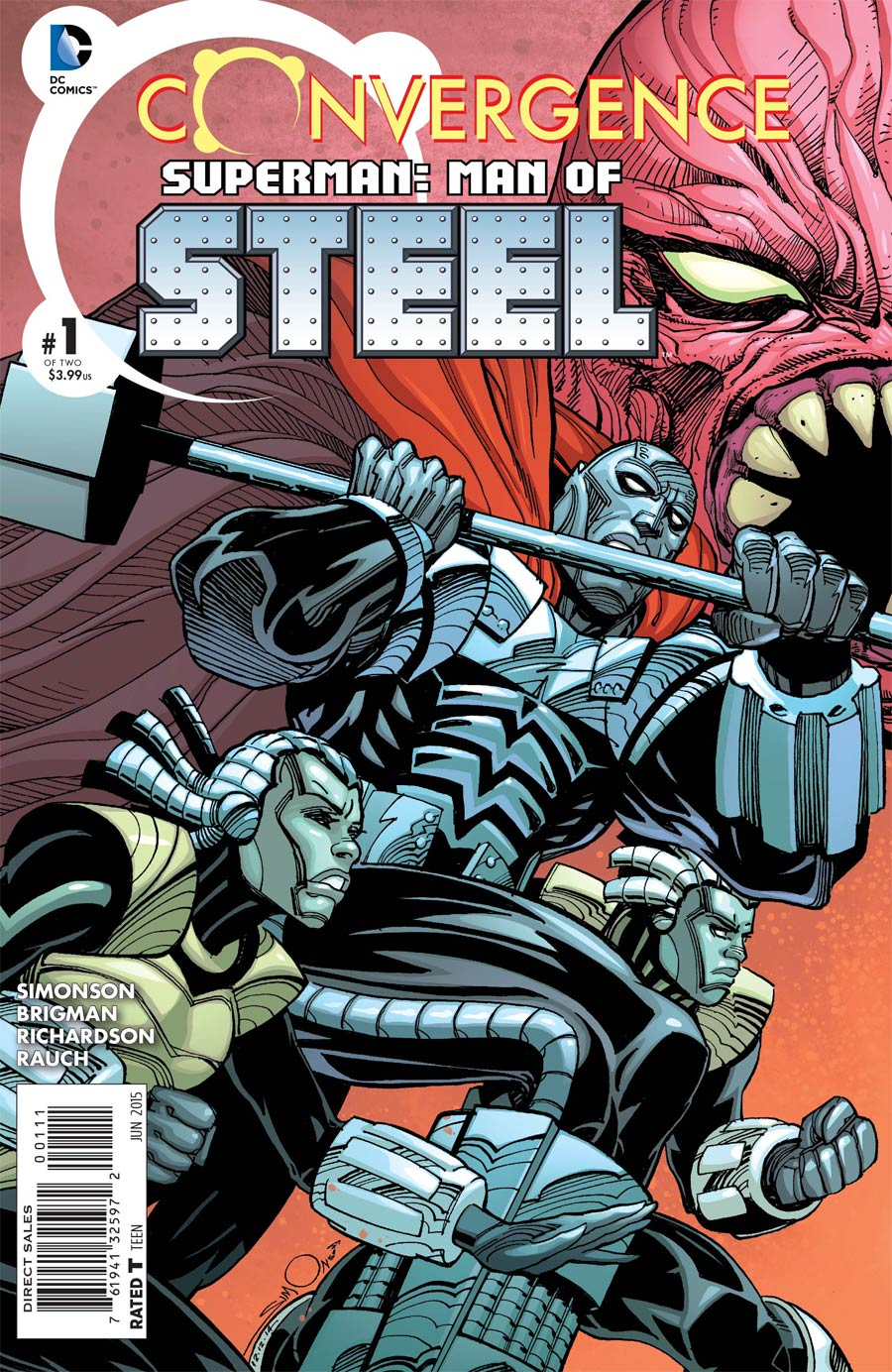 Convergence Superman Man Of Steel #1 Cover A Regular Walter Simonson Cover