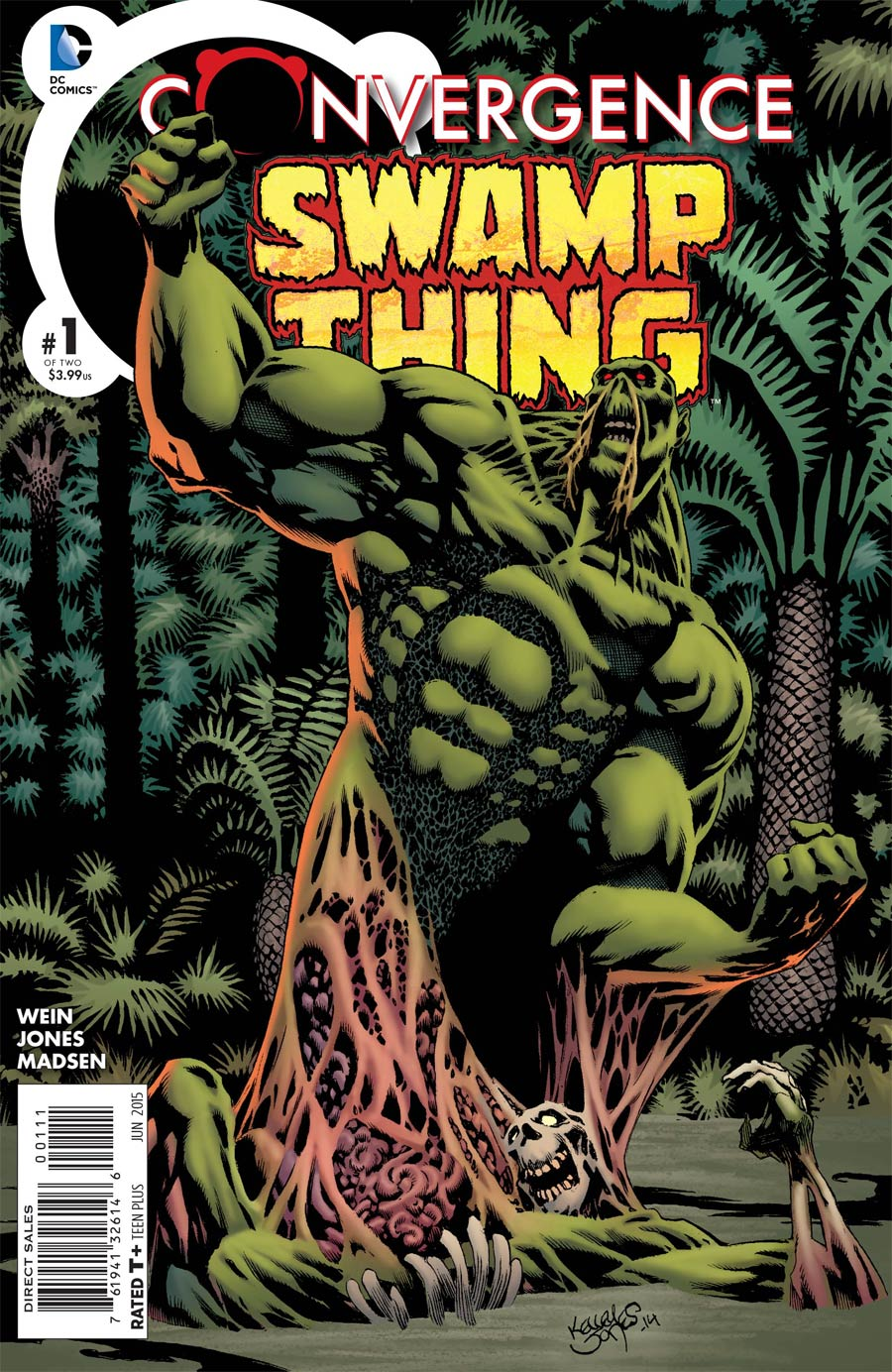 Convergence Swamp Thing #1 Cover A Regular Kelley Jones Cover