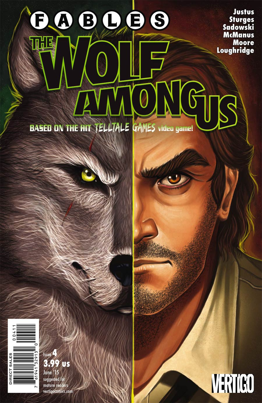 Fables The Wolf Among Us #4