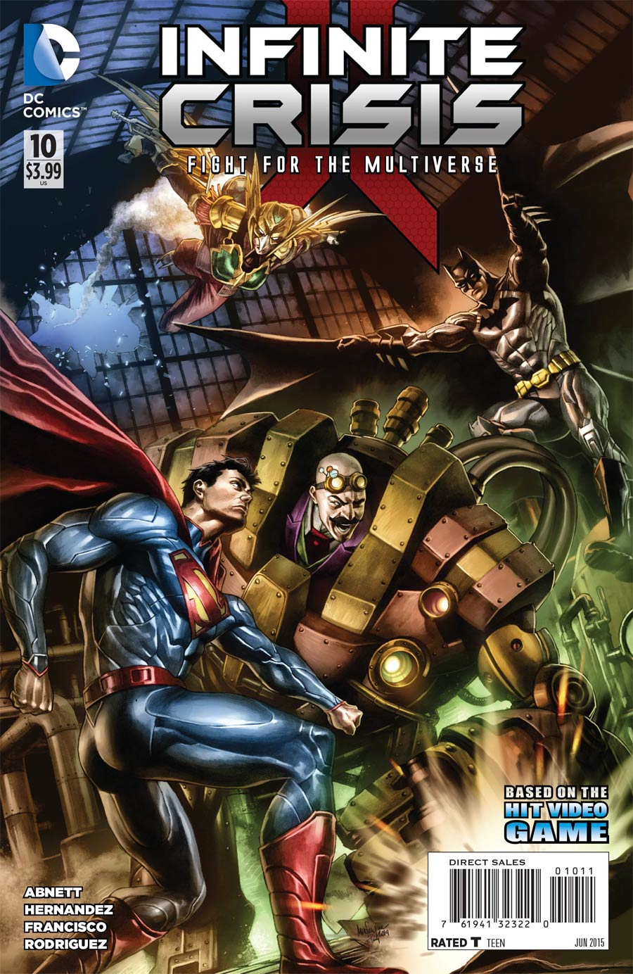 Infinite Crisis Fight For The Multiverse #10