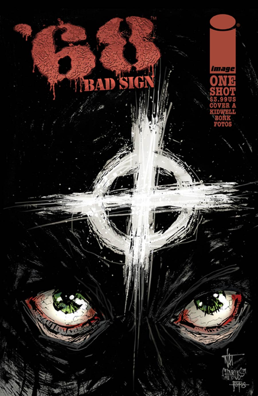 68 Bad Sign One Shot Cover A Nat Jones