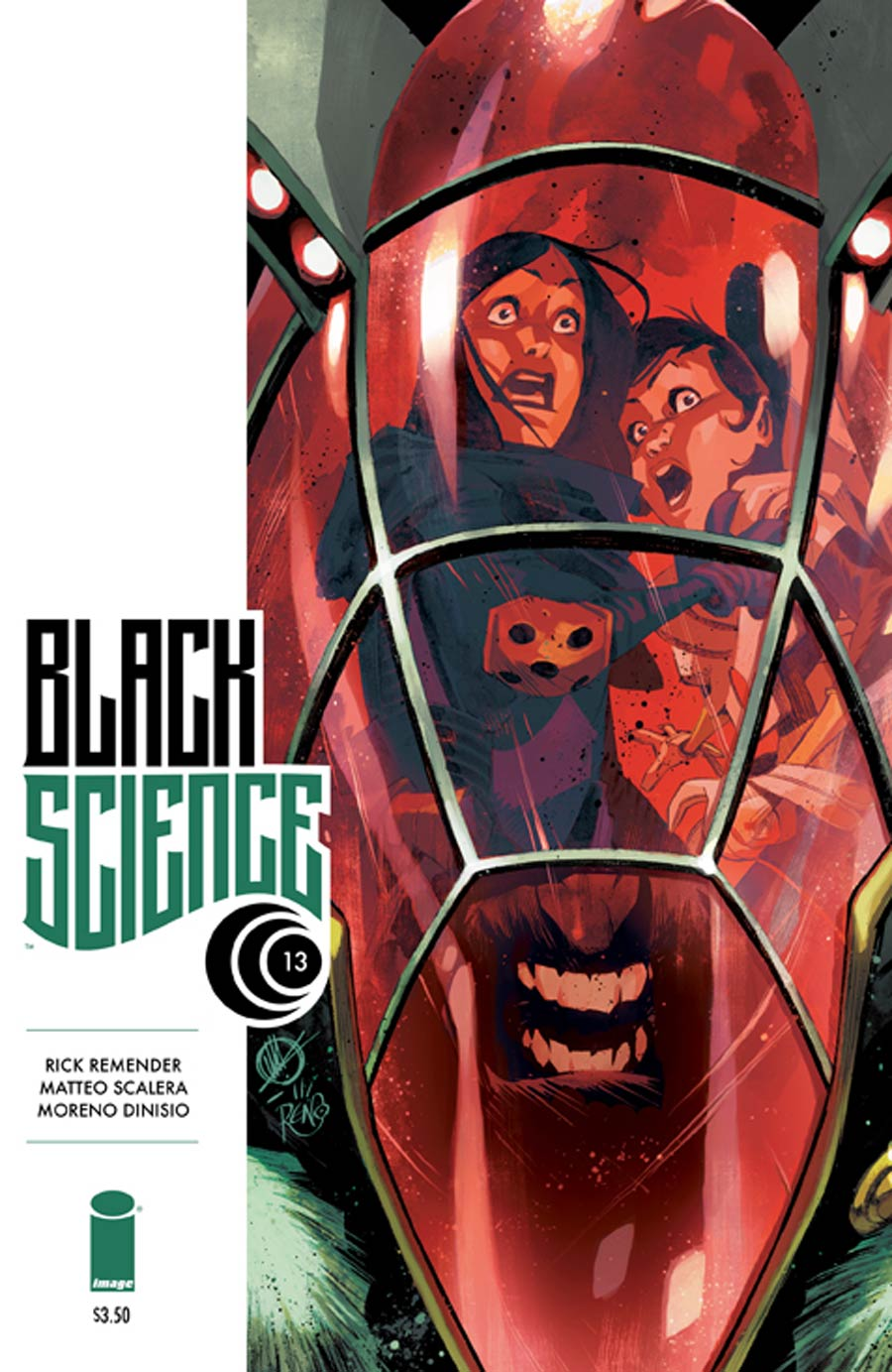Black Science #13 Cover A 1st Ptg