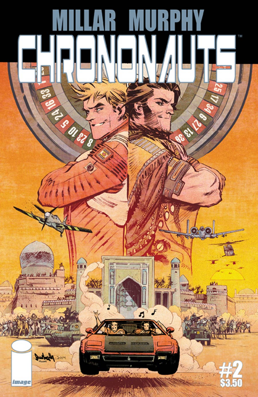 Chrononauts #2 Cover A Regular Sean Murphy Cover