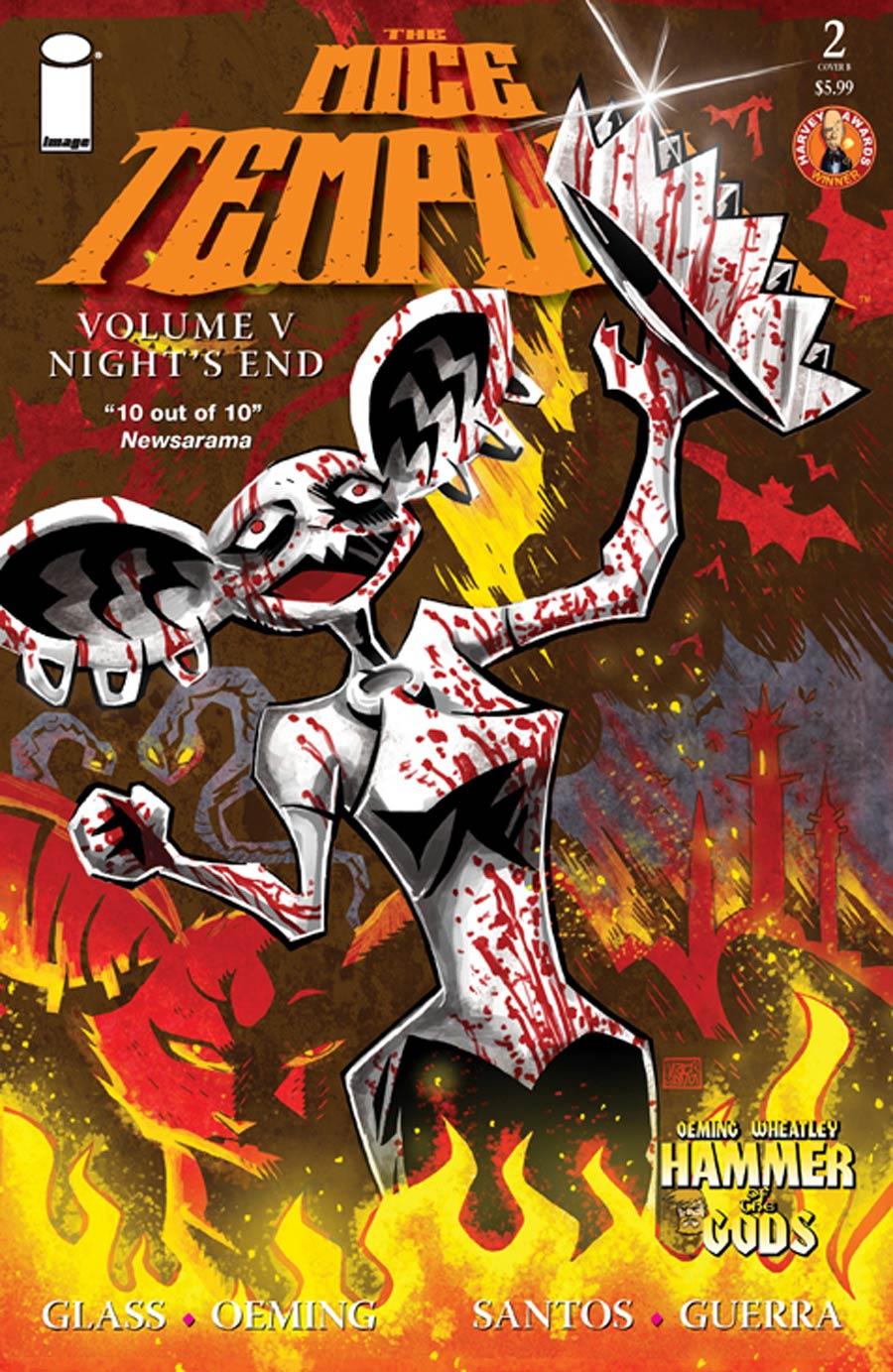 Mice Templar Vol 5 Nights End #2 Cover B Victor Santos & Chandra Free