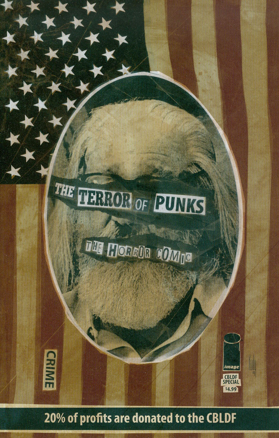Punks The Comic CBLDF Special