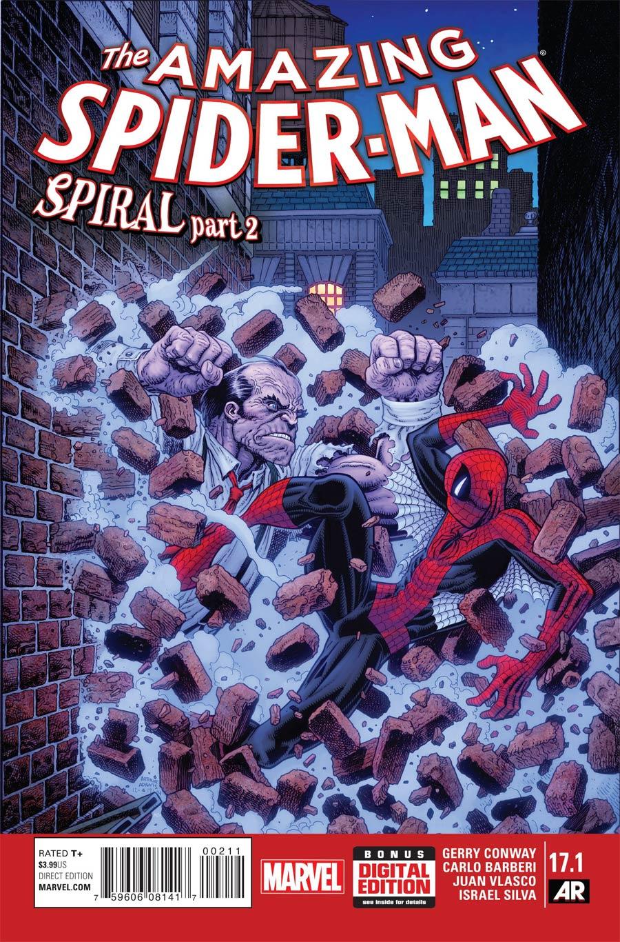 Amazing Spider-Man Vol 3 #17.1 Cover A Regular Arthur Adams Cover