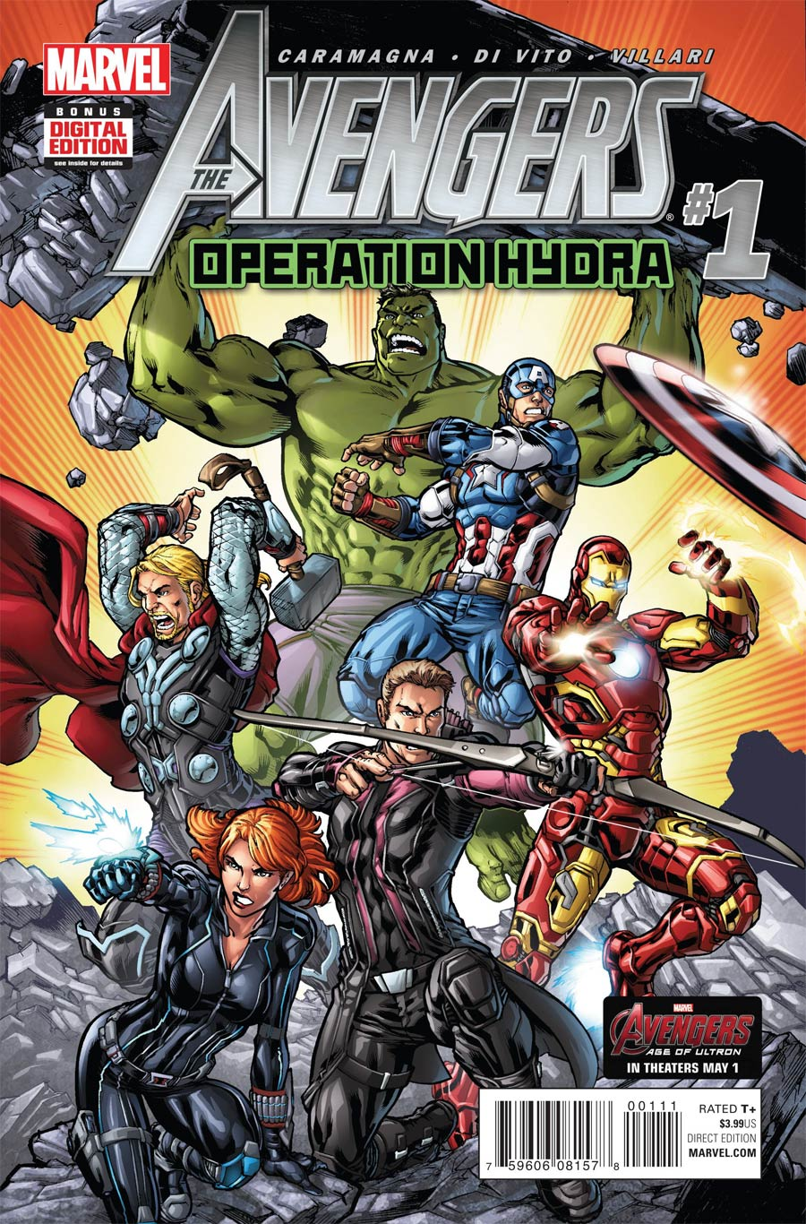 Avengers Operation Hydra #1 Cover A Regular Michael Ryan Cover