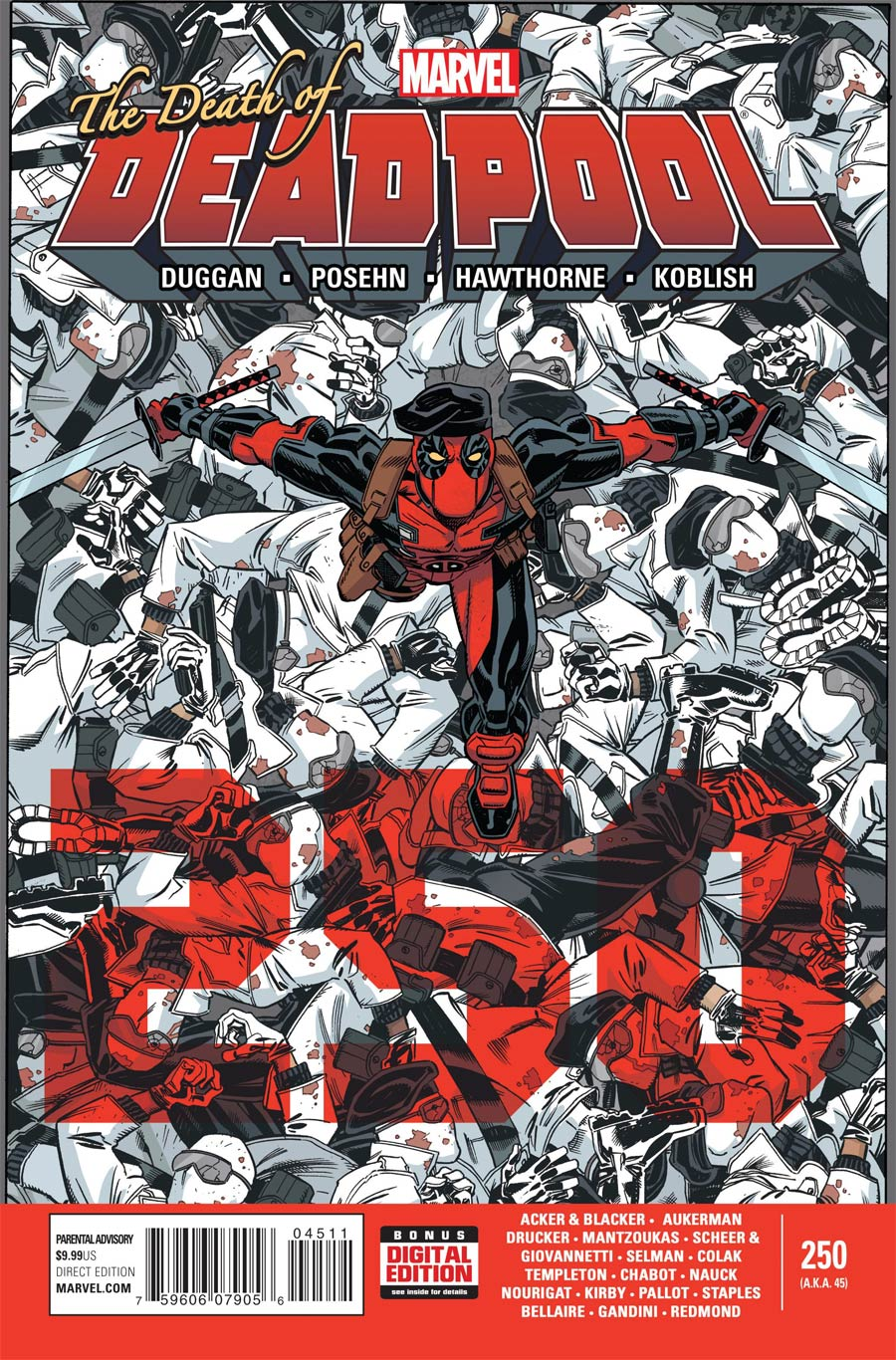 Deadpool Vol 4 #45 (250th Issue) Cover A Regular Scott Koblish Cover