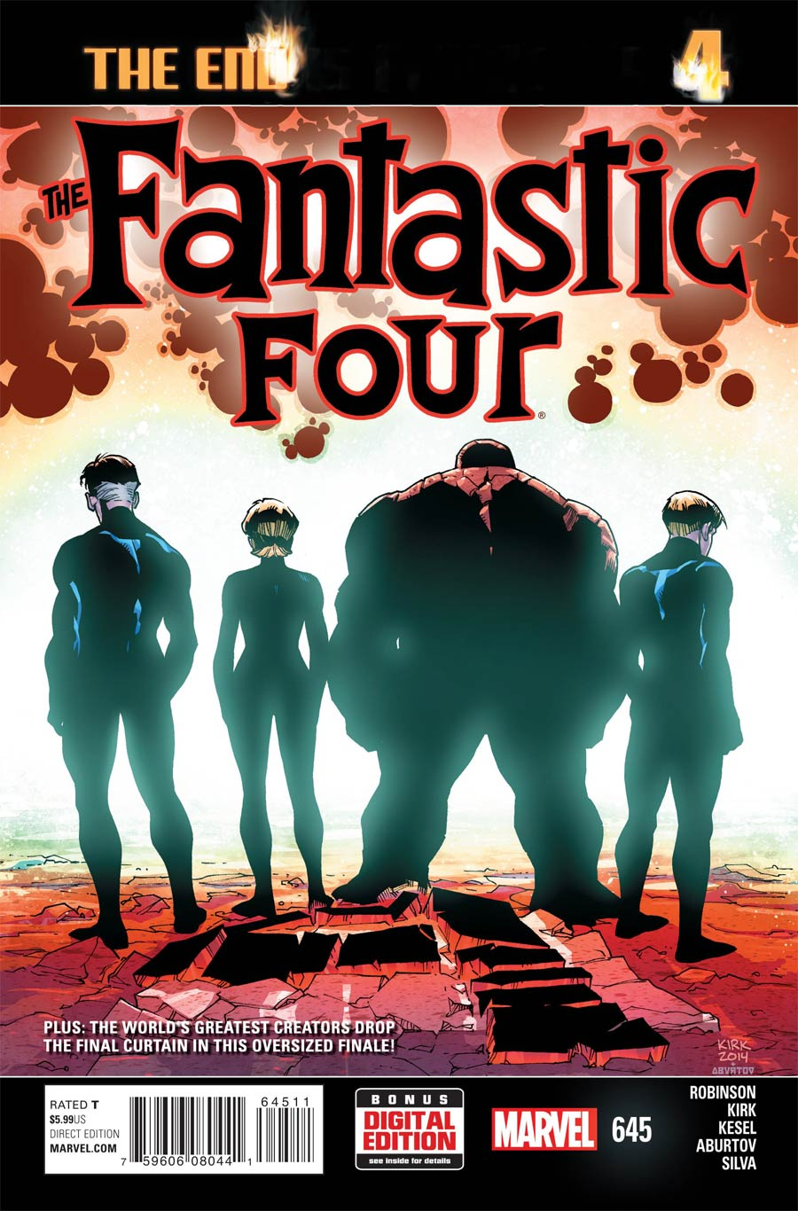 Fantastic Four Vol 5 #645 Cover A Regular Leonard Kirk Cover