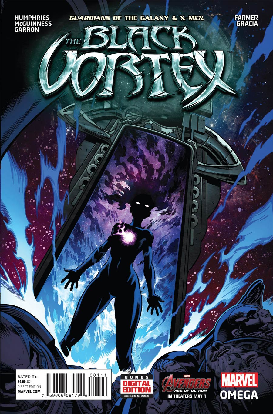 Guardians Of The Galaxy & X-Men Black Vortex Omega #1 Cover A Regular Ed McGuinness Cover (Black Vortex Part 13)
